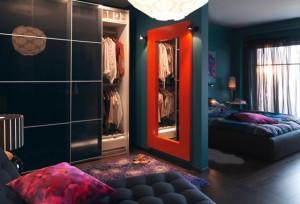 dormitor modern bleumarin