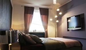 apartament dormitor modern wenge