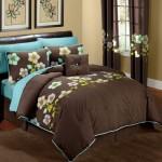 dormitor pat ciocolata