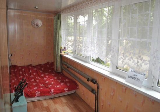 dormitor saltea balcon