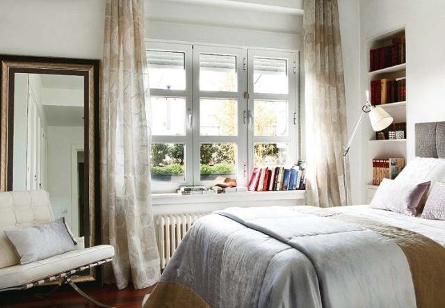 dormitor stil clasic apartament
