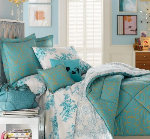 dormitor turcoaz 2