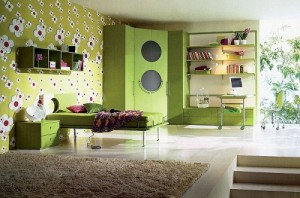 Verde. Decoreaza-ti casa in culoarea naturii
