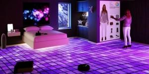 dormitorul viitorului pat plutitor oglinda virtuala