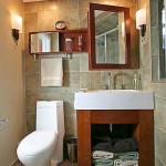 dulap baie deasupra toaletei