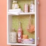 dulap baie pentru produse igiena din sertar vechi reciclat