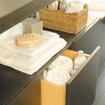 dulap baie spatiu pentru prosoape