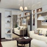 dulap de haine alb cu usi glisante placate cu oglinzi decor living modern 15 mp