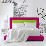 dusumea alba interior dormitor modern minimalist