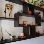 etajera lemn hand made living