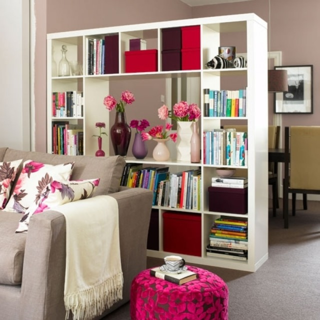 etajera paravan despartitor living open space