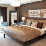 exemplu amenajare dormitor modern wenge