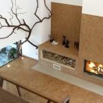 exemplu living minimalist modern decor rustic pluta