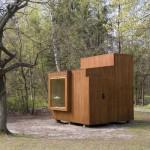 Model de casa prefabricata foarte mica – 9,8 mp