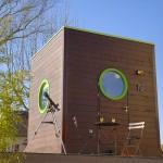 exterior casuta lemn 9 metri patrati