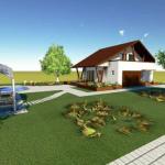 fatada 1 proiect casa 153 mp