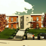 Proiect casa: locuinta bifamiliala 266 mp – PLANURI
