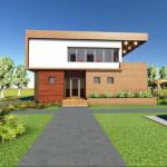 fatada 2 proiect casa 145 mp