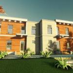 fatada 2 proiect locuinta bifamiliala 266 mp