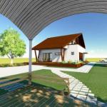 fatada 4 proiect casa 153 mp
