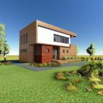 fatada 5 proiect casa 145 mp