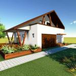 fatada 5 proiect casa 153 mp