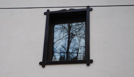fereastra inramata