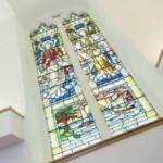 ferestre cu vitralii casa