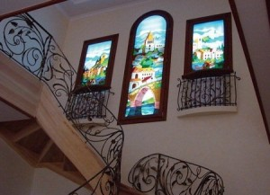 ferestre vitralii
