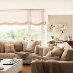 finisaje mobilier si decoratiuni in tonuri pastel idei amenajare living mic