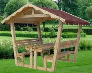 foisor gradina lemn rexal accent
