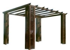 foisor lemn tip pergola