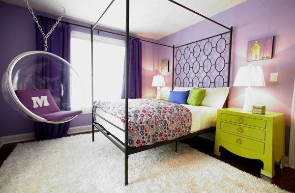 fotoliu balansoar suspendat tavan dormitor