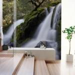fototapet baie moderna stil minimalist