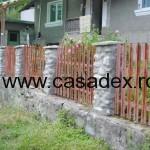 gard metal stalpi beton
