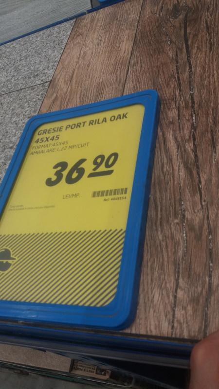 gresie port rila oak