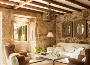 Un hotel amenajat in stil rustic, din Spania. Lugar do Cotarino – Imagini superbe