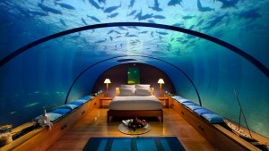 Primul hotel subacvatic din lume. Poseidon, in Fiji