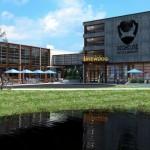 hotelul TheDogHouse in apropierea fabricii de bere artizanala din Ohio Columbia