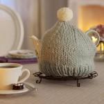 husa decorativa ceainic crosetata manual