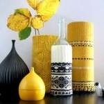 huse crosetate manual pentru vaze decorative