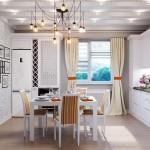 idee amenajare bucatarie clasica de apartament