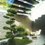 idee amenajare colt gradina zen