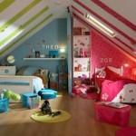 idee amenajare dormitor copii mansarda
