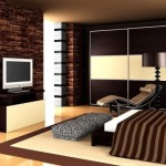 idee amenajare dormitor modern decorat cu piatra naturala