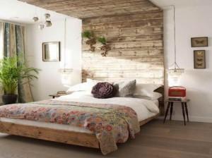idee amenajare dormitor rustic