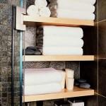 idee depozitare prosoape baie