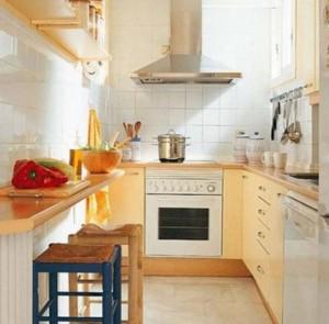 idee mobila pentru bucatarii mici