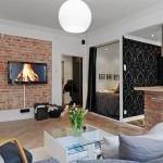 idei amenajare apartament mic open space stil modern