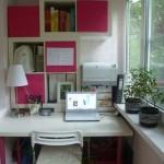 idei amenajare birou in balcon mic garsoniera sau apartament